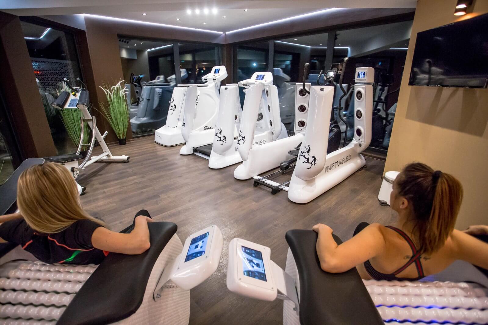 Hotel Złoty Groń w Istebnej - sala fitness